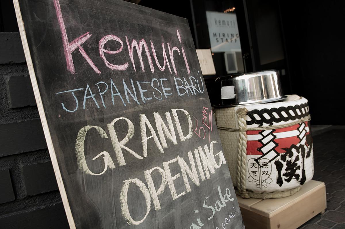 Kemuri Japanese Baru Grand Opening