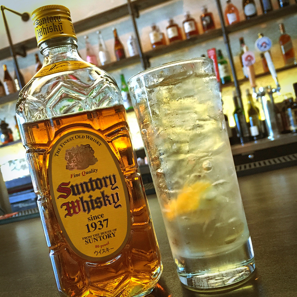 Suntory Whisky Highball at Kemuri